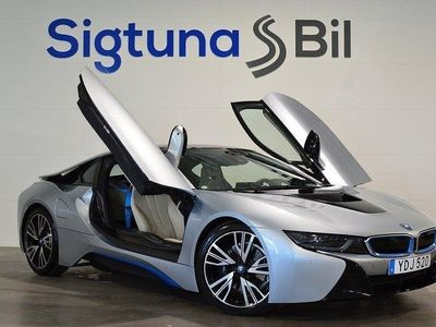 begagnad BMW i8 1.5 + 7.1 kWh Steptronic Navi Harman k