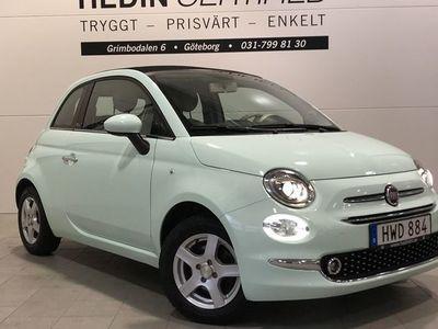 begagnad Fiat 500C 1.2 69HK LOUNGE V - HJUL