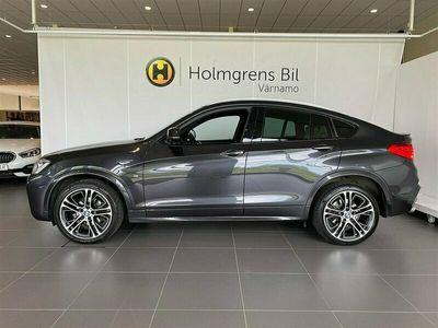 begagnad BMW X4 xDrive 35i M-Sport Taklucka Värmare H K Drag DAP