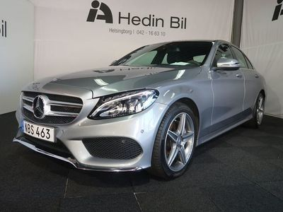 begagnad Mercedes C220 D 4MATIC Sedan AMG-Line