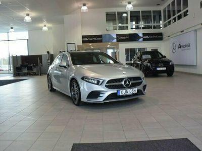 begagnad Mercedes A200 A BenzAMG Vinterhjul 2018, Halvkombi Pris 264 900 kr