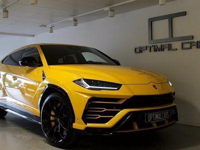 begagnad Lamborghini Urus Giallo-Auge ADAS CARBON 2019, SUV 2 649 000 kr