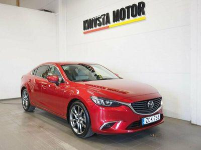 begagnad Mazda 6 Sedan 2.5 Optimum Aut Webasto värmare
