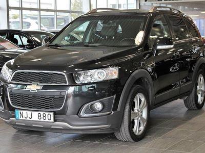 begagnad Chevrolet Captiva 2.2 VCDi 4WD Aut 7-sits Nav Drag Taklucka