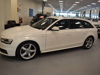 begagnad Audi A4 2.0 TDI quattro AUT S-line NAVI Drag