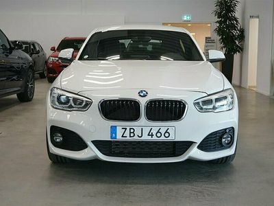 begagnad BMW 118 i M-Sport 17'' PDC Bluetooth Led-Strålkastare