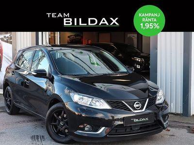 begagnad Nissan Pulsar 1.2 DIG-T ACENTA NY-BESKTIGAD 1 2015, Halvkombi 78 000 kr