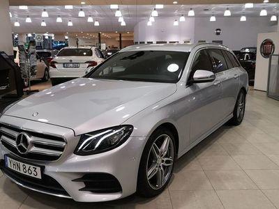 begagnad Mercedes E220 AMG-Paket/Bränslevärmare/Dragkrok