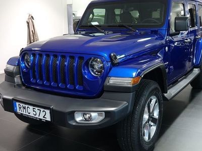 begagnad Jeep Wrangler Unlimited WRANGLER 2.0T GME SAHARA 8ATX