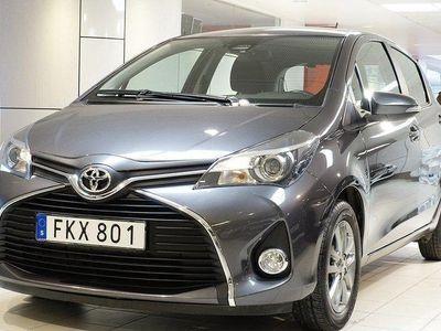 begagnad Toyota Yaris 1,33 5-D ACTIVE V-HJUL BACKKAMERA TKG