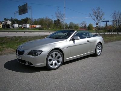 begagnad BMW 650 Cabriolet I Automat 367hk Svensksåld