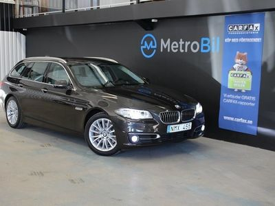 begagnad BMW 530 D xDrive Luxary Line Navi Drag -14