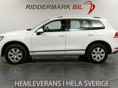 begagnad VW Touareg 3.0 204hk 4M Premium Skinn Drag Nyservad
