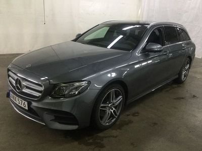 begagnad Mercedes E220 Kombi AMG 360-Kamera Aut -19