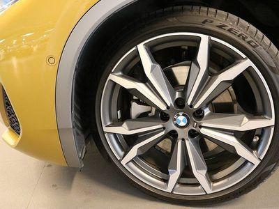 begagnad BMW X2 Xdrive 20d Msport X Nav Drag Glastakl