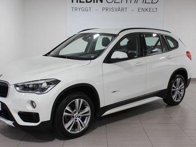 begagnad BMW X1 sDrive 18d 150 HK AUT
