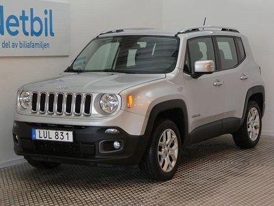 begagnad Jeep Renegade 2.0CRD 4WD Limited EU6 140hk Dr