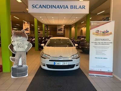 begagnad Citroën C5 Tourer 1.6 e-HDi Automat Låg Mil 111hk