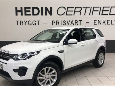 begagnad Land Rover Discovery Sport Signature 2.0D TD4