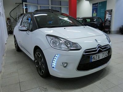 begagnad Citroën DS3 1,6 e-HDI CAB Aut | 1Äg | Svensksåld