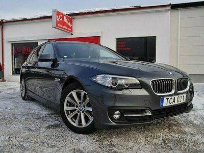 begagnad BMW 520 d xDrive Touring Sport Navi Skinn Drag