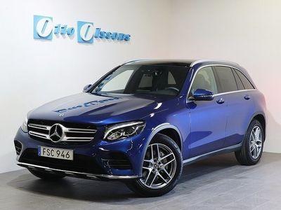 brugt Mercedes GLC220 D 4-Matic AMG Aut, Nav, Panorama, Drag