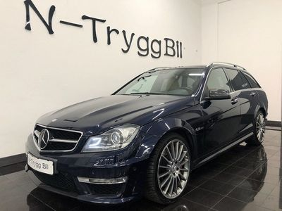 begagnad Mercedes C63 AMG AMG PERFORMACE PACKAGE !