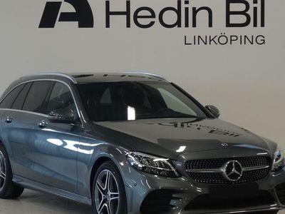 used Mercedes C200 AMG Dragkrok Navigation Backkamera
