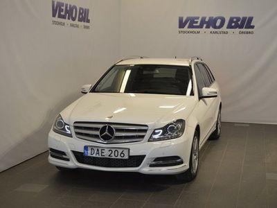 begagnad Mercedes C220 4Matic-Värmare-Navi-Park.sensor-Krok