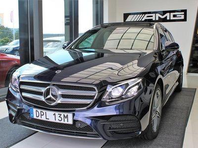 begagnad Mercedes E300 AMG-Line Plug-In-Hybrid