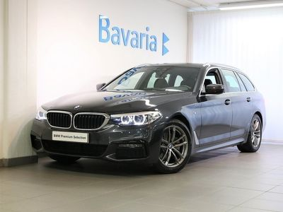 begagnad BMW 520 d xDrive Touring M-Sport Connected Winter Nav Drag Nypris 59