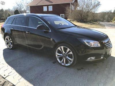 begagnad Opel Insignia 4x4 OPC LINE BI-TURBO 195hk -12