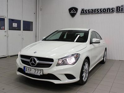 begagnad Mercedes CLA220 CDI BUSINESS COUPE AUTOMAT