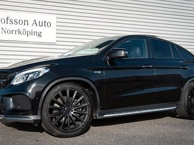 begagnad Mercedes GLE43 AMG AMG 4MATIC Coupé Värmare Drag Navi
