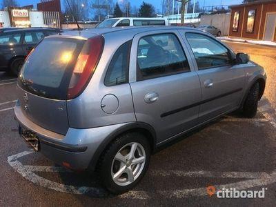 begagnad Opel Corsa 2004 besiktad och körklar