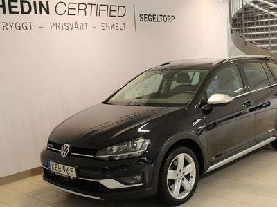 begagnad VW Golf Alltrack 2.0TDI 184HK AUTO 4MOTION COMBI S+V-HJUL