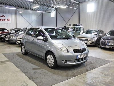 begagnad Toyota Yaris 1.3 VVT-i Låg Mil Ny Besik 87hk