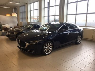 begagnad Mazda 3 Sedan 2.0 SKYA.-X Aut 180hk Sky+Tech Pack