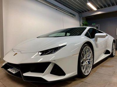 begagnad Lamborghini Huracán EVO 640-4 AWD Svensksåld