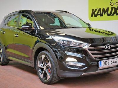 begagnad Hyundai Tucson 1.6T 4WD Pano Navi Skinn S&V-hjul