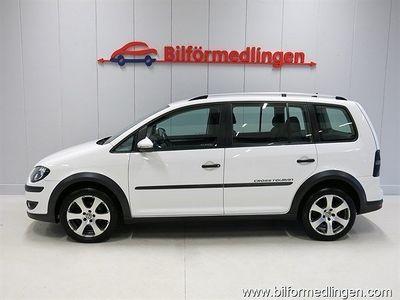begagnad VW Touran Cross 1.4 TSI 7-sits DSG Drag 1 Ägare Svensksåld 2010, SUV 69 900 kr