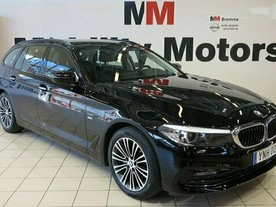 begagnad BMW 520 d xDrive Touring Steptronic Sport line Euro 6 190hk