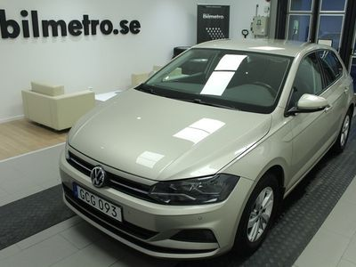 begagnad VW Polo TSI 95 Man P-Sensorer/Bluetooth/V-Hjul