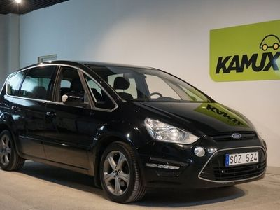 used Ford S-MAX 2.0 TDCi Aut Business 7-sits 140hk