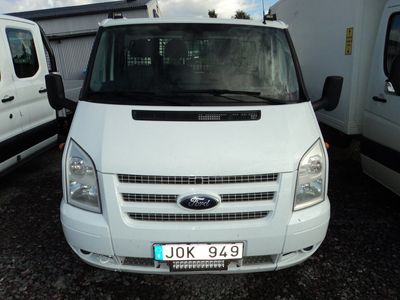 begagnad Ford Transit Chassis Cab E-hytt RWD Trend 350
