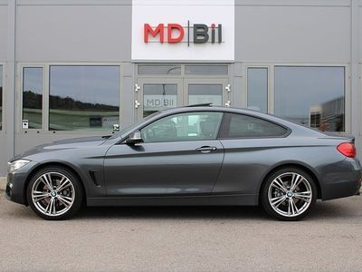 begagnad BMW 428 i xDrive Aut Sportline Taklucka Skinn 0kr kontant möjligt