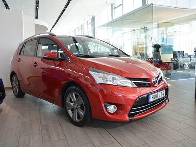 begagnad Toyota Verso 1.6 D Active Plus Drag 7-sits