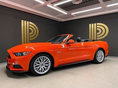 begagnad Ford Mustang GT Cabriolet 5.0 V8 (421hk) Sv-s