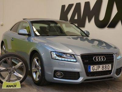 begagnad Audi A5 3.0 TDI | Coupé | S-Line | Quattro | Drag | S&V-Hjul | 239hk