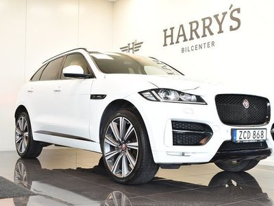 begagnad Jaguar F-Pace I-PaceS R-Sport AWD Panorama Navi Blackpack 2018, SUV 528 000 kr